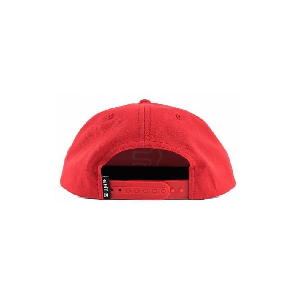 Gorra Etnies: Icon 7 Snapback Hat RD: Amazon.es: Ropa y accesorios