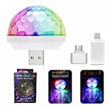 Mini USB Disco Light, Portable home party light, DC 5V USB Disco ball, Karaoke party LED decorations