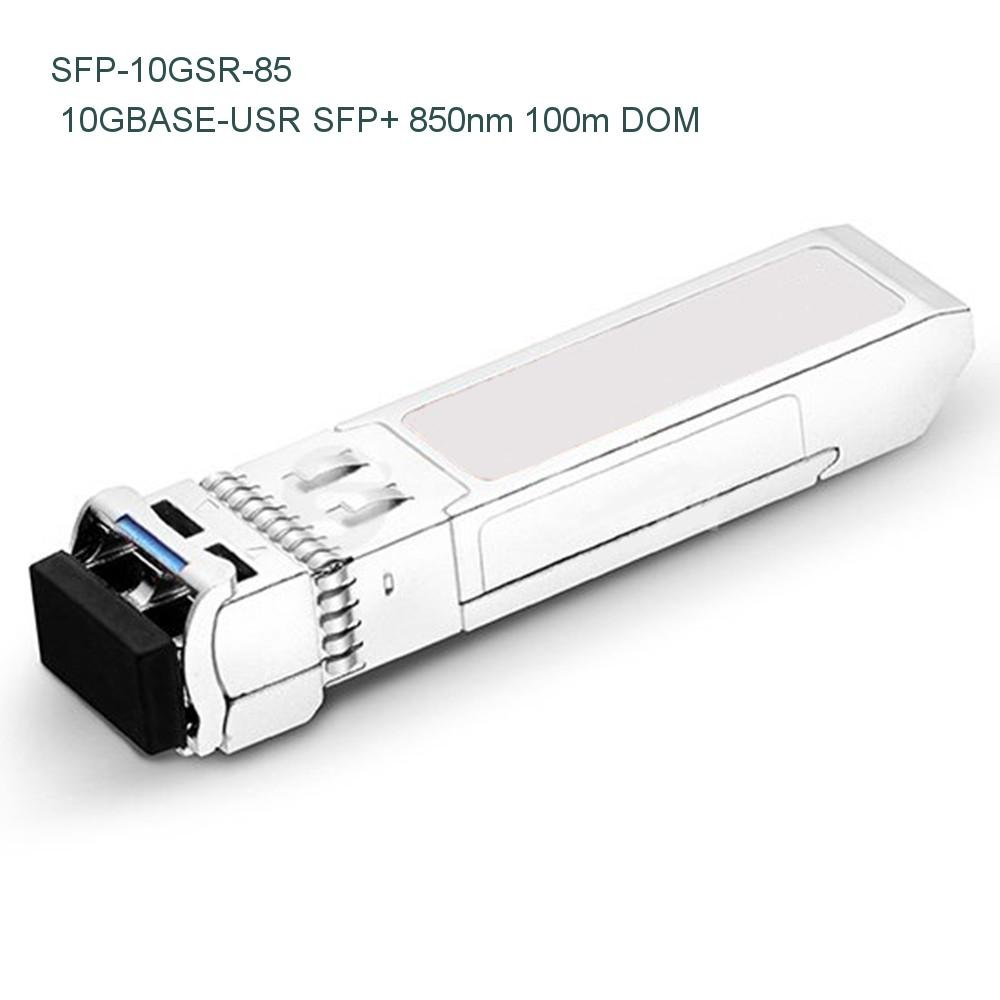 Dell Networking SFP-10G-USR Compatible 10GBASE-USR SFP+ 850nm 100m DOM Transceiver - NETCNA