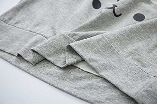 shirt Grey Donna shirt T Himifashion Himifashion T Donna wY0qXBB