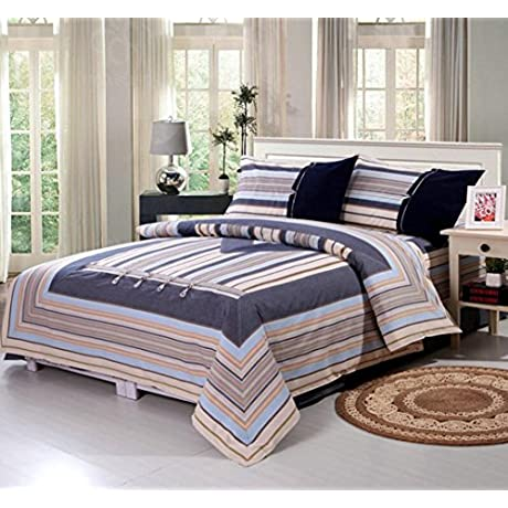 Sucastle Bedding Old Coarse Cloth Lute Buckle Cotton Four Sets Sucastle Size 250CM250CM