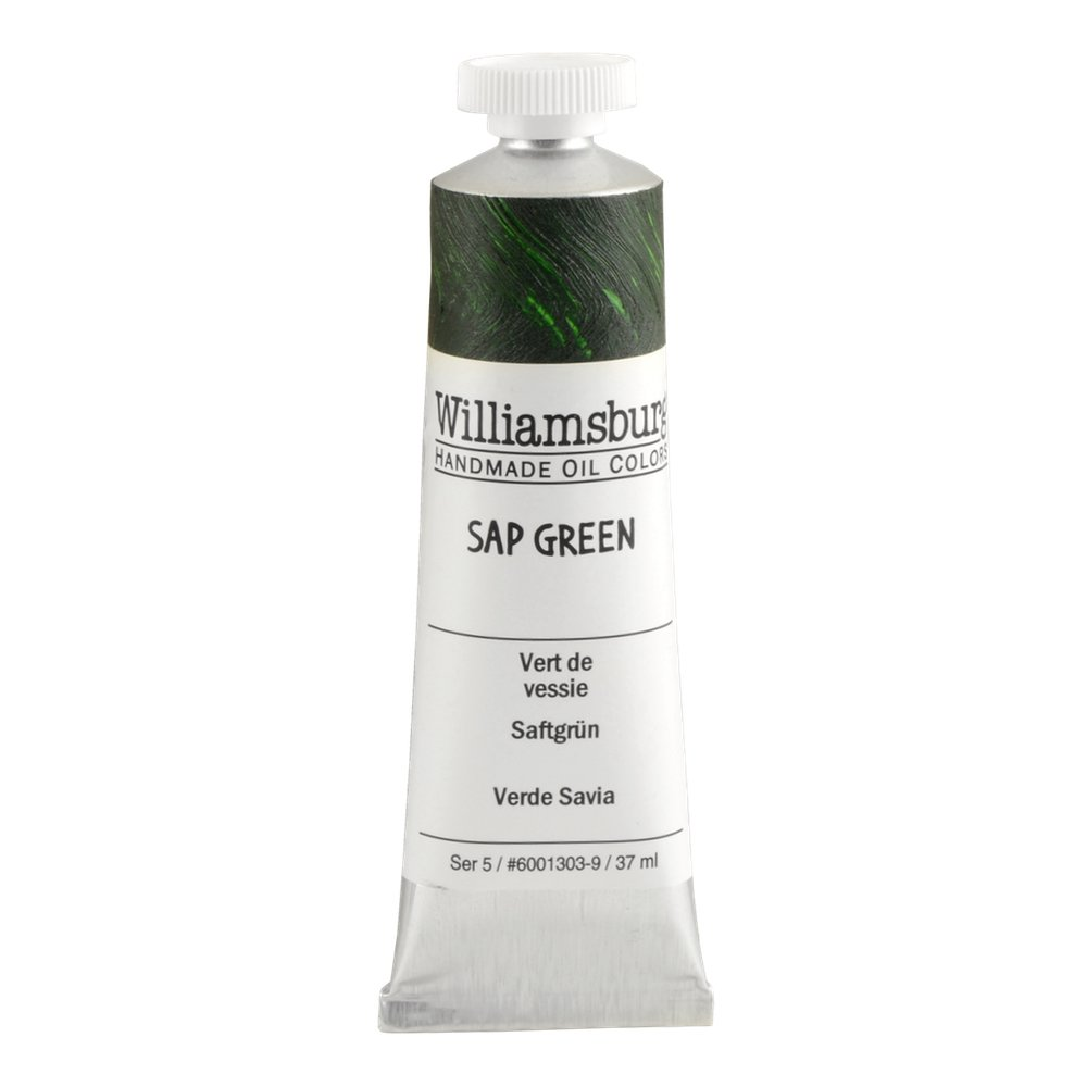 Williamsburg  油絵の具 37 Ml Tube WB60013039 B0178FTLIQ 37 Ml Tube|Sap Green Sap Green 37 Ml Tube