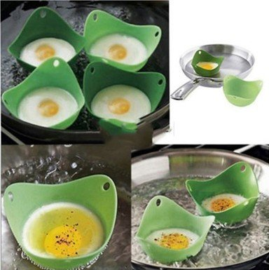 Kitchen Silicone Fried Fry Frier Oven Pancake Egg Poach Moul