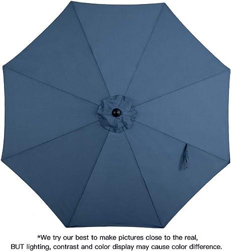 Tempera 10ft Patio Umbrella Outdoor Garden Table Umbrella