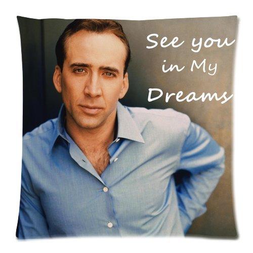 Nicolas Cage 50,8 cm x 50,8 cm funda de almohada cojín funda ...
