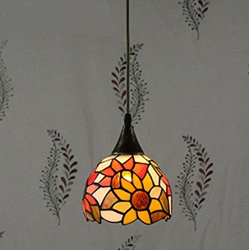 Tiffany Restaurant In Front Of The Hotel Cafe Bar Small Aisle Entrance Hall Pendant Light Mediterranean LO9 ( Color : NO 1 )