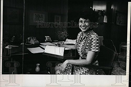 1977 Cluster Photo Alicia Ramirez, Bilingual Employment Training head - oro12196