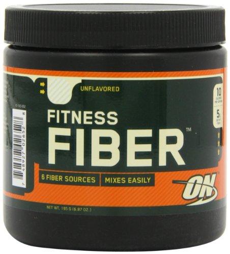 Optimum Nutrition Fitness Fiber, Unflavored, 6.87oz Tub