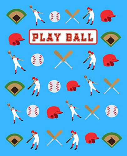 (Play Ball: Wide Ruled Composition Book for Baseball Players and Coaches.)