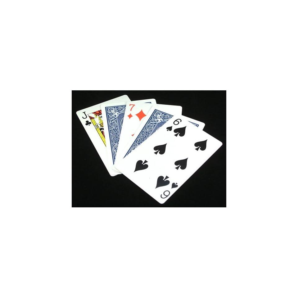 Acrobatic Cards Magic Trick