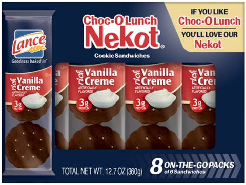Choc-O- Lunch Nekot CREME FILLED COOKIES