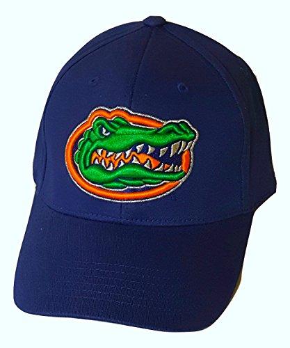 過敏な切り離す軽蔑Florida Gators基本的なロゴキャップFlex Fit Hat