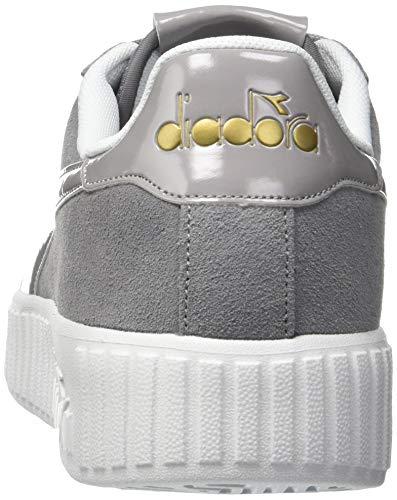 Gris Diadora Step Pulviscolo grigio Chaussures Femme Pour De Sport 75072 Game 0w40qr