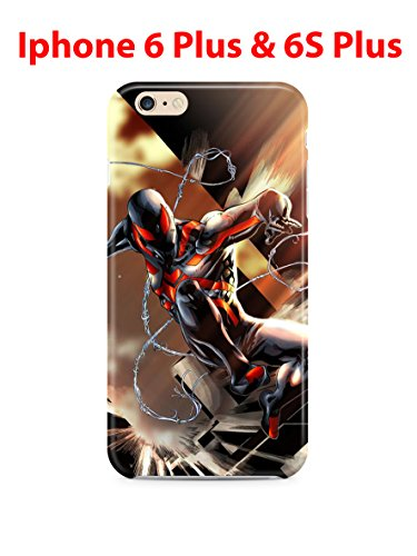 Spiderman (for Iphone 6 Plus / Iphone 6s Plus) 5.5in Hard Case Cover (sm13)