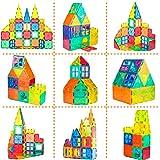 WHIRLT Magnetic Blocks, 40 PCS Magnetic Tiles