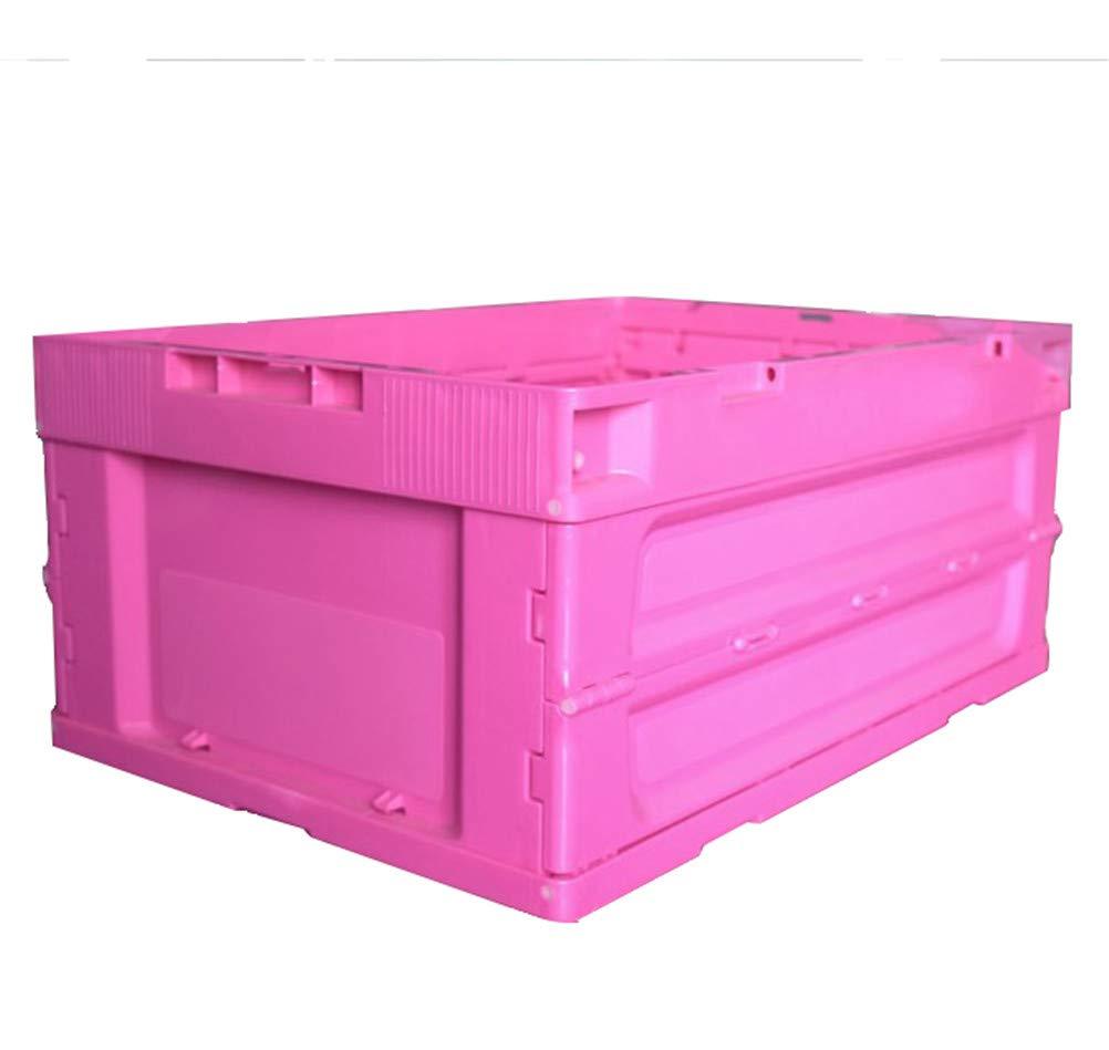 超可爱の 2ピース折りたたみトランク収納ボックス60lガレージアクセサリー折りたたみオーガナイザーボックスツールボックス省スペースクレートボックス折りたたみコンテナ用ハンドル付き Pink、保育園オーガナイザーオフィス,Pink Pink B07QXNNSW9, インパクト:5ab67e35 --- svecha37.ru