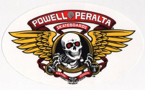 Powell Peralta Skateboard Sticker - Bones Brigade Winged Ripper Official Reissue