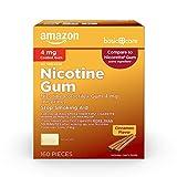 Amazon Basic Care Nicotine Polacrilex Coated Gum 4
