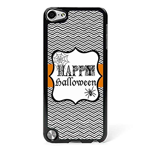 Happy Halloween Phone Case Compatible with iPod Touch 6/5, Cool Halloween Printable Anti Dust Plastic Phone Shell Compatible with iPod Touch 6 -
