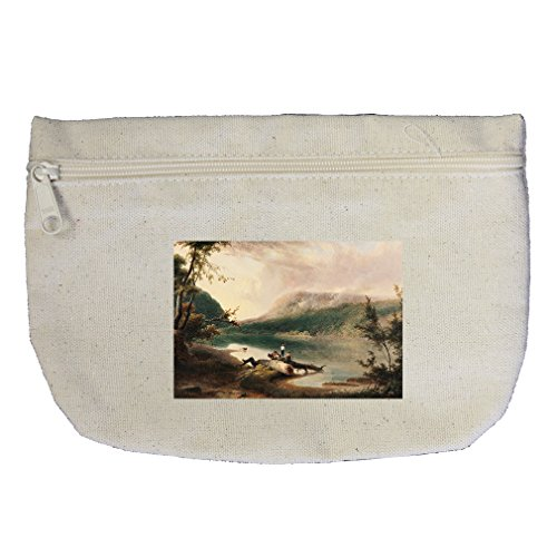 (Delaware Water Gap (Doughty) Canvas Makeup Bag Zippered Pouch)