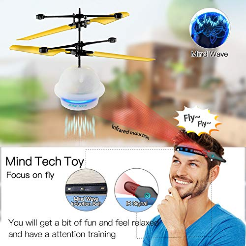 Diditech Mind Sensor Flying Ball Infrared Induction Flying Toy Attention Training Plane DIY Helicopter for Ten Year Old and Above by Diditech (Image #6)