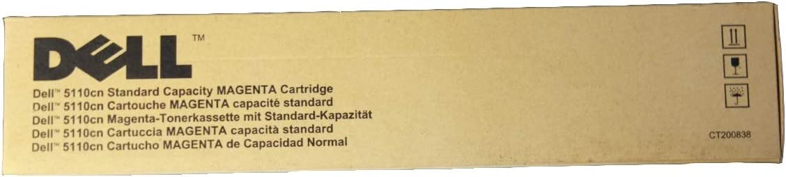 Dell KD566 5110 Toner Cartridge (Magenta) in Retail Packaging
