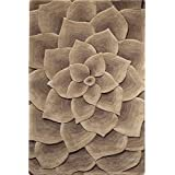 Corolla Area Rug 2 Footx3 Foot Taupe By Home Decorators Collection