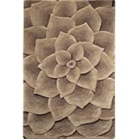 corolla area rug 2 footx3 foot taupe - Home Decorators Rugs