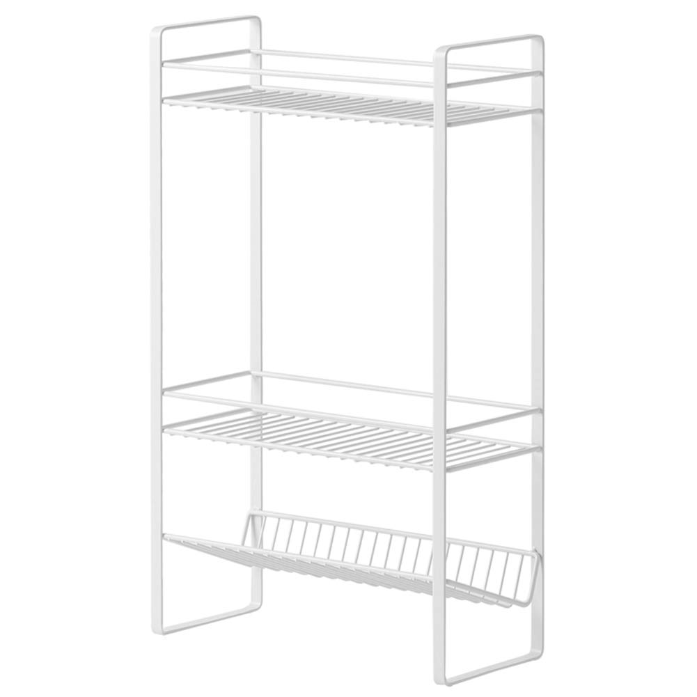 Shelf Storage Racks Pot Rack Shelf Baskets Kitchen Multi-Layer Storage Rack Storage Shelf Iron Art Punch Free Storage Basket ZHAOYONGLI