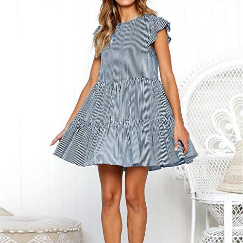 Longra 💞 💞 💗 Vestido Vintage! Vestido de Mujer de Eleagnt Falda ...