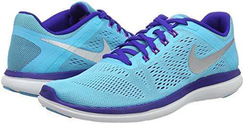 Zapatillas De Slvr Para hypr Mtllc 2016 gmm cncrd Mujer Wmns V Bl Nike Running Azul Flex Rn FxUU1B