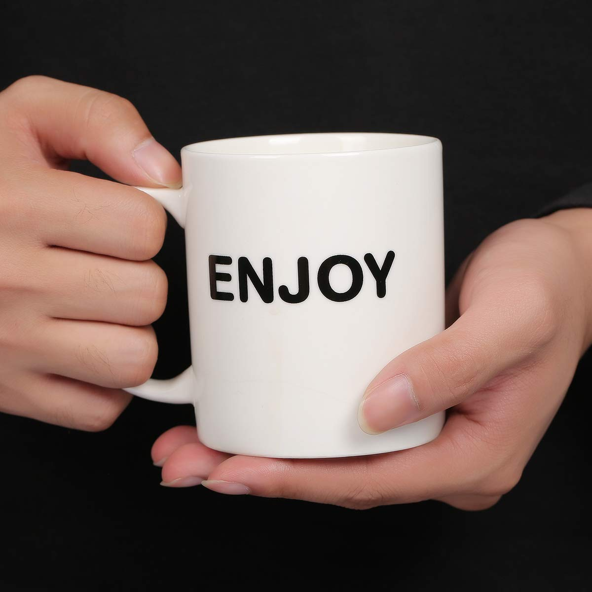 11oz Funny Coffee Mug: ENJOY j...