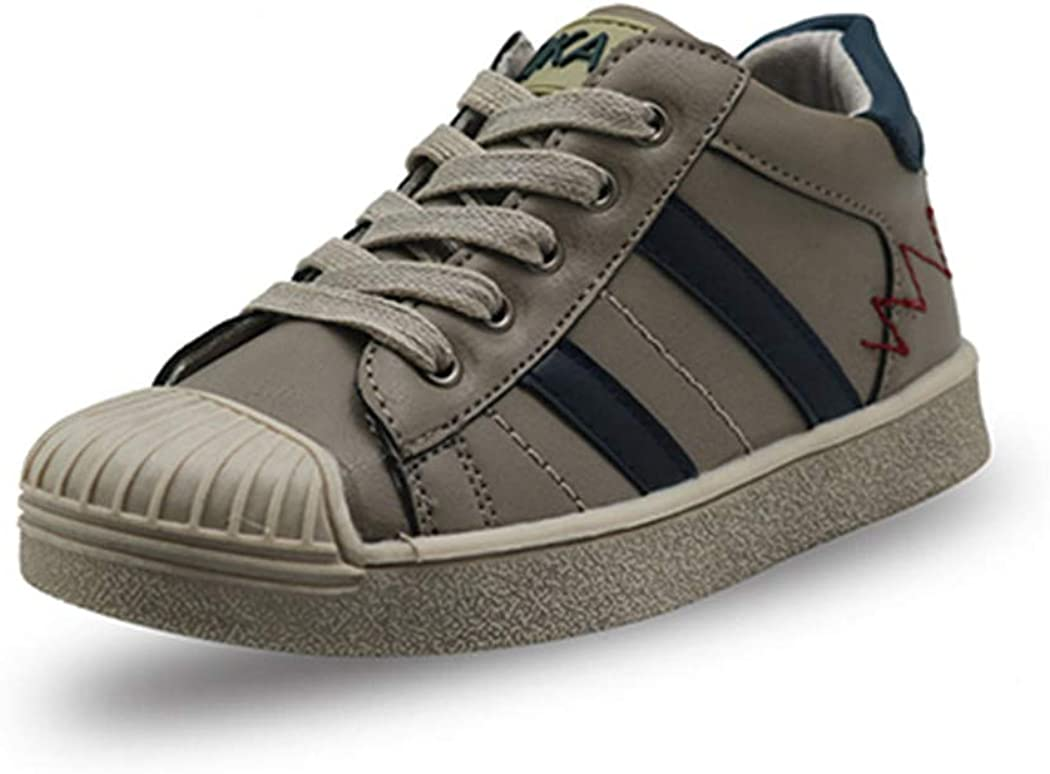 Boys Classic Stripe Sneakers Toddler Kids Fashion Casual Shoes