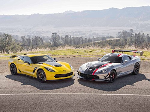 2015 Chevrolet Corvette Z06 vs. 2016 Dodge Viper ACR