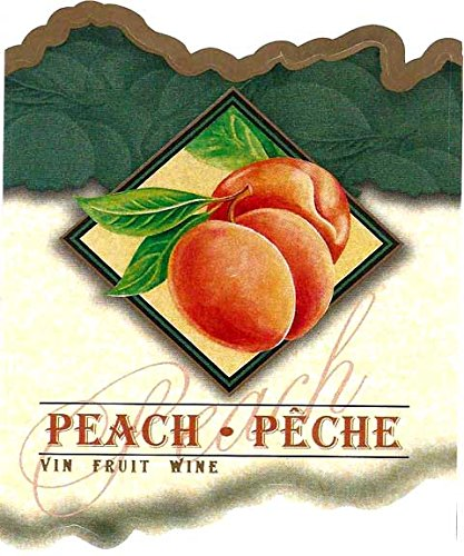 Classic Studios Peach Wine Labels- Pack of (30) (Peach Label)
