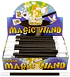 6 Magic Wands 26.5cm / Gift Favours / Tricks Childrens Kids Party Bag Fillers