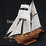 Classics Antique wooden sail boat model kit to decorate Home & Office look so Luxury in Classical Style.