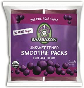 Sambazon Smoothie Packs - Unsweetened