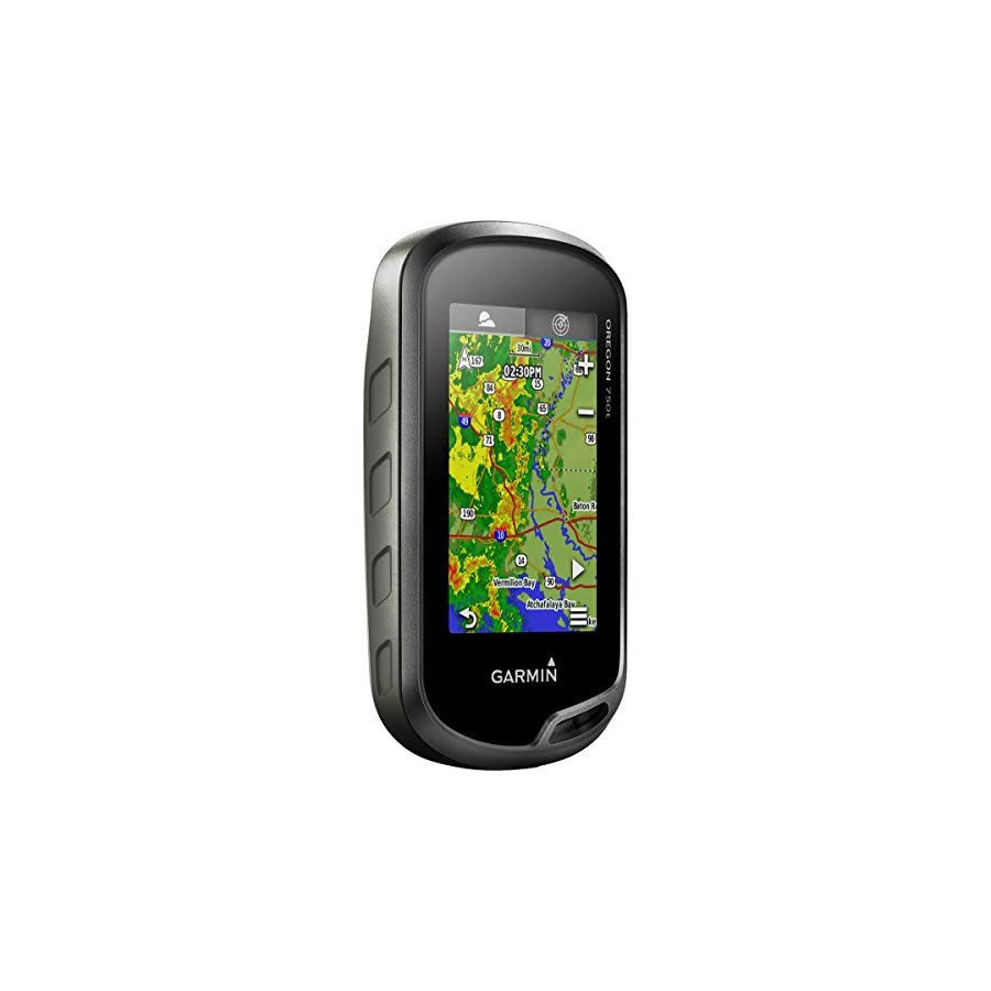 Garmin 750T 3 Inch Touchscreen Handheld GPS with Topo U.S. 100K