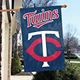 "IFS - Minnesota Twins MLB Applique Banner Flag (44x28"")"""