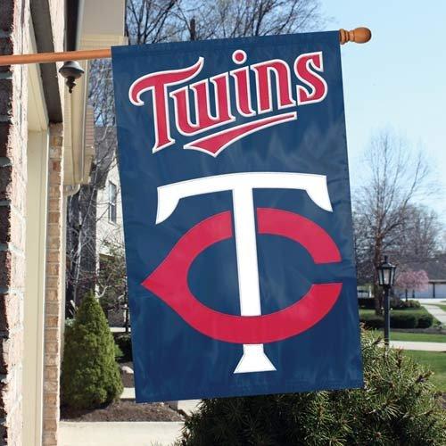 (IFS - Minnesota Twins MLB Applique Banner Flag (44x28