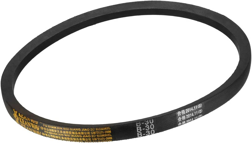sourcing map B22 Drive V-Belt Girth 22-inch Industrial Power Rubber Transmission Belt