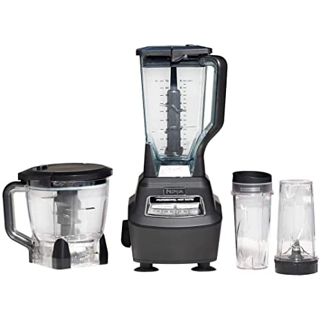 amazon com ninja mega kitchen system bl770 blender food processor rh amazon com