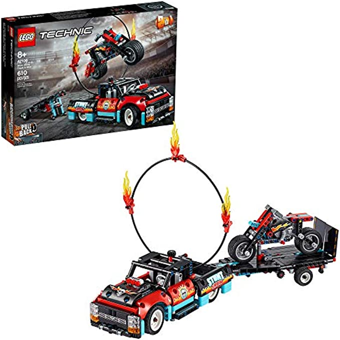 LEGO Technic Stunt Show Truck & Bike 42106 (new 2020)