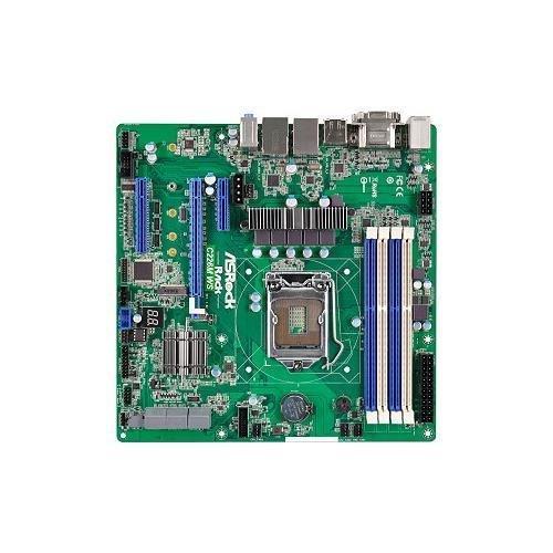 - ASRock Rack C226M WS LGA1150/ Intel C226/ DDR3/ SATA3&USB3.0/ M.2/ A&2GbE/ ATX Server Motherboard