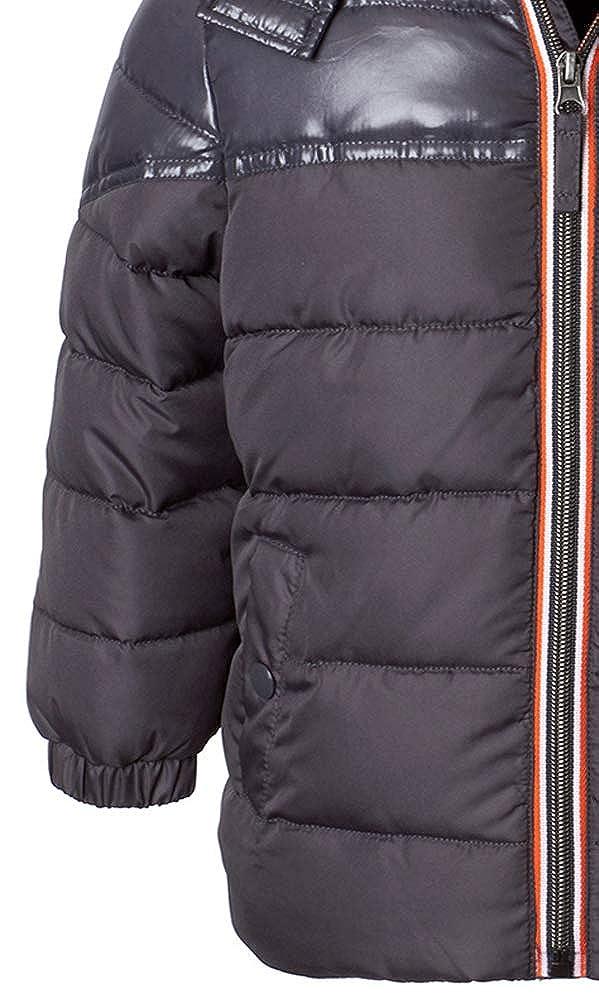 Tahari Boys Two-Tone Hooded Puffer Coat