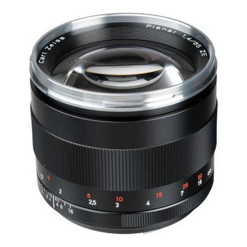 Zeiss Planar 85mm f1.4 Lens Canon Fit (Carl Zeiss Lens For Canon 5d Mark Ii)