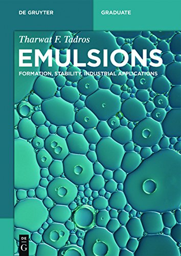Emulsions: Formation, Stability, Industrial Applications (De Gruyter Textbook)