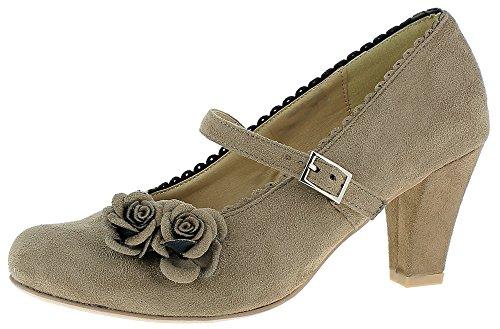 Pardo Zapatos Conti Para Mujer Marrón Vestir De Andrea zOZq8wTq
