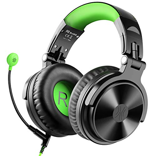 OneOdio Gaming Headsets Over Ear Headphones Wired Stereo Sound Gaming Chat Headphones 50mm Driver Soft Earmuffs for PS4 Xbox Cell Phone PC